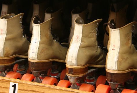 Skate Rental at Morton Roller Rink
